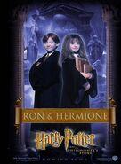 Der Stein der Weisen Charakterposter Ron & Hermine (Englisch)