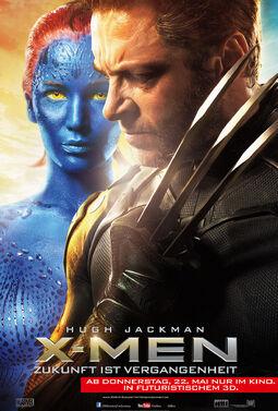 X-Men Zukunft ist Vergangenheit Wolverine & Mystique Poster