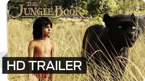 THE JUNGLE BOOK - Erster Offizieller Trailer (German deutsch) - Disney HD