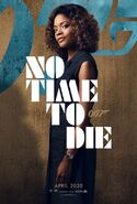 No Time to Die Charakterposter - Eve Moneypenny