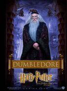 Der Stein der Weisen Charakterposter Albus Dumbledore (Englisch)