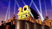 The Twentieth (20th) Century Fox Film Studios Corporation New 2024 Logo A DisneyFox Company