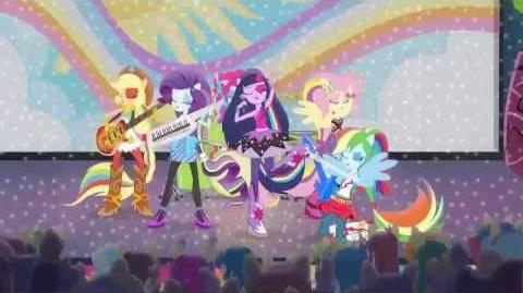 My Little Pony Equestria Girls Movie 2 Rainbow rocks Trailer Preview and confimed by EW