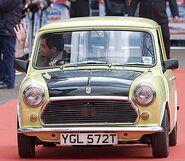 Mr Bean Holiday Mr Bean's Car Mini 1000 YGL 572T
