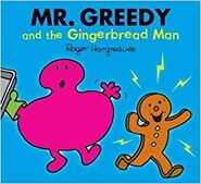 Mr. Greedy and the Gingerbread Man cover