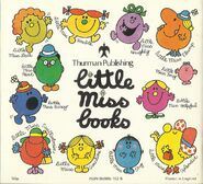 Little Miss books back cover early 80's