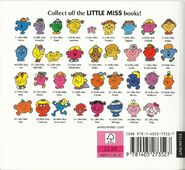 Little Miss 2010's back cover