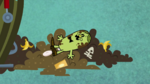 Mr Persnickety in Garbage