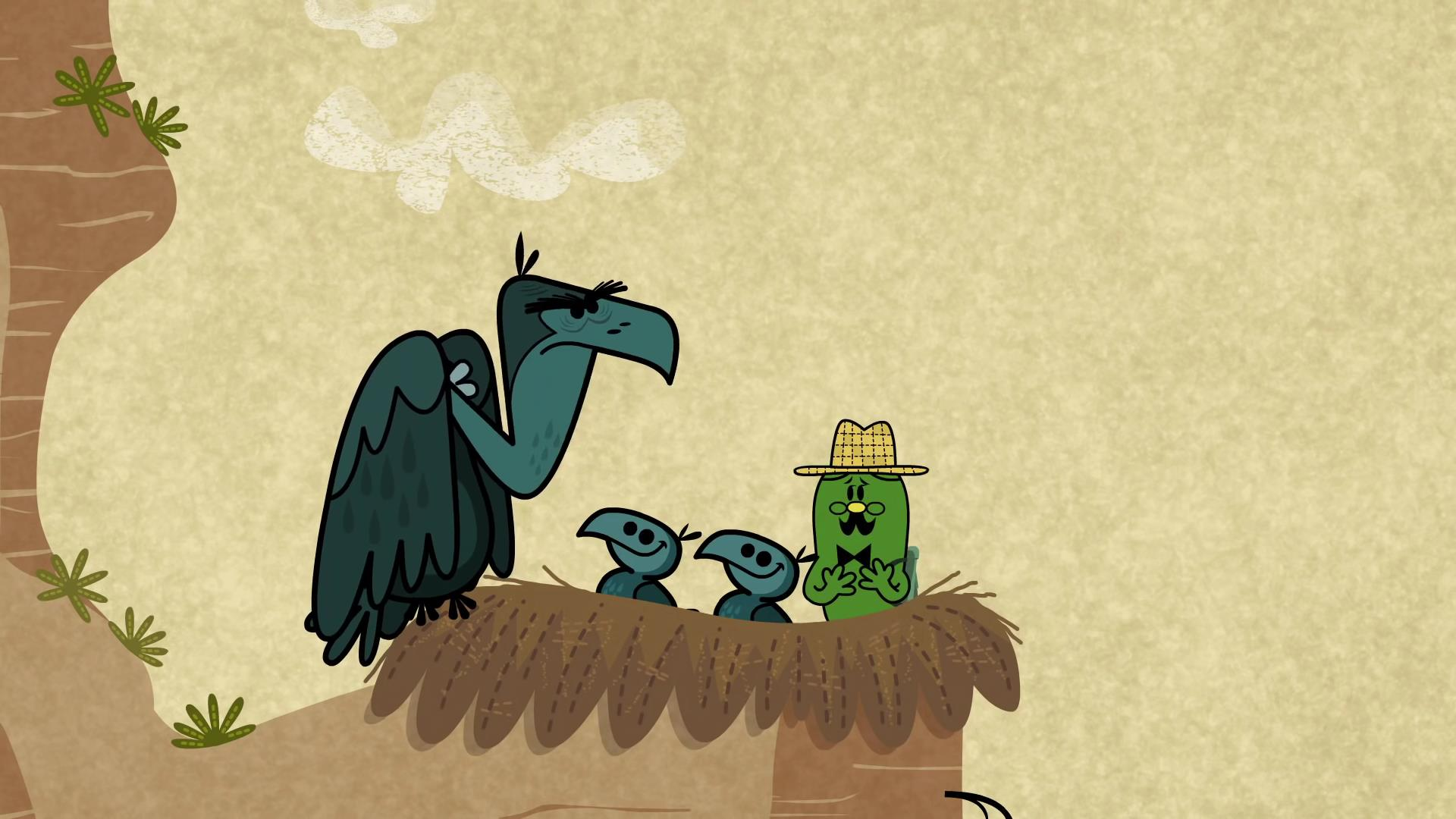 Giant Blue Bellied Buzzard