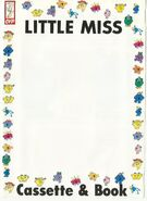 Little Miss cassette and book cover