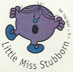 Little Miss Stubborn 8A