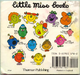 Little Miss Back Book Cover A