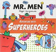 Mr. Men Adventure with Superheroes cover