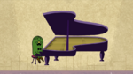 Mr Fussy Plays Piano Good