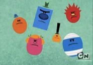 Mr men show angry heads 3
