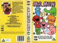 Mr. Men Volume 3 VHS 1988 Cover
