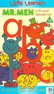 Mr Men Great Alphabet Hunt VHS Cover