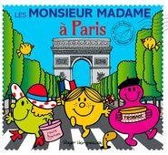 Mr. Men in Paris cover
