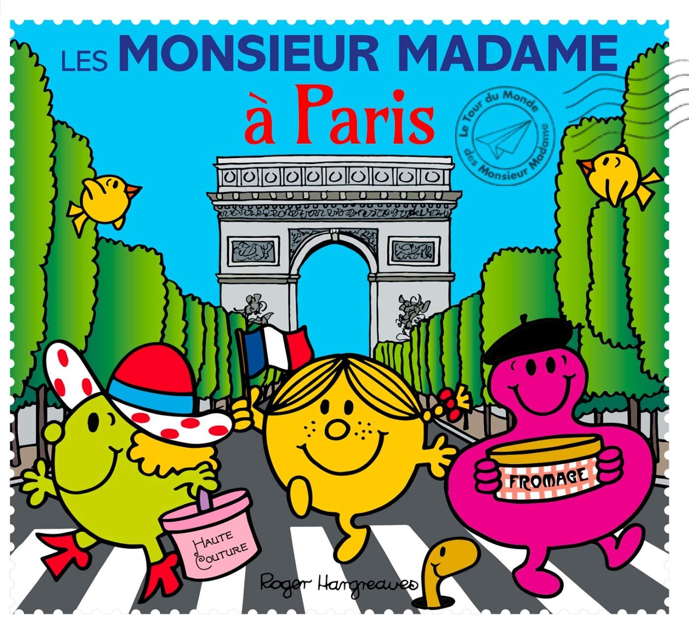 Mr. Men in Paris