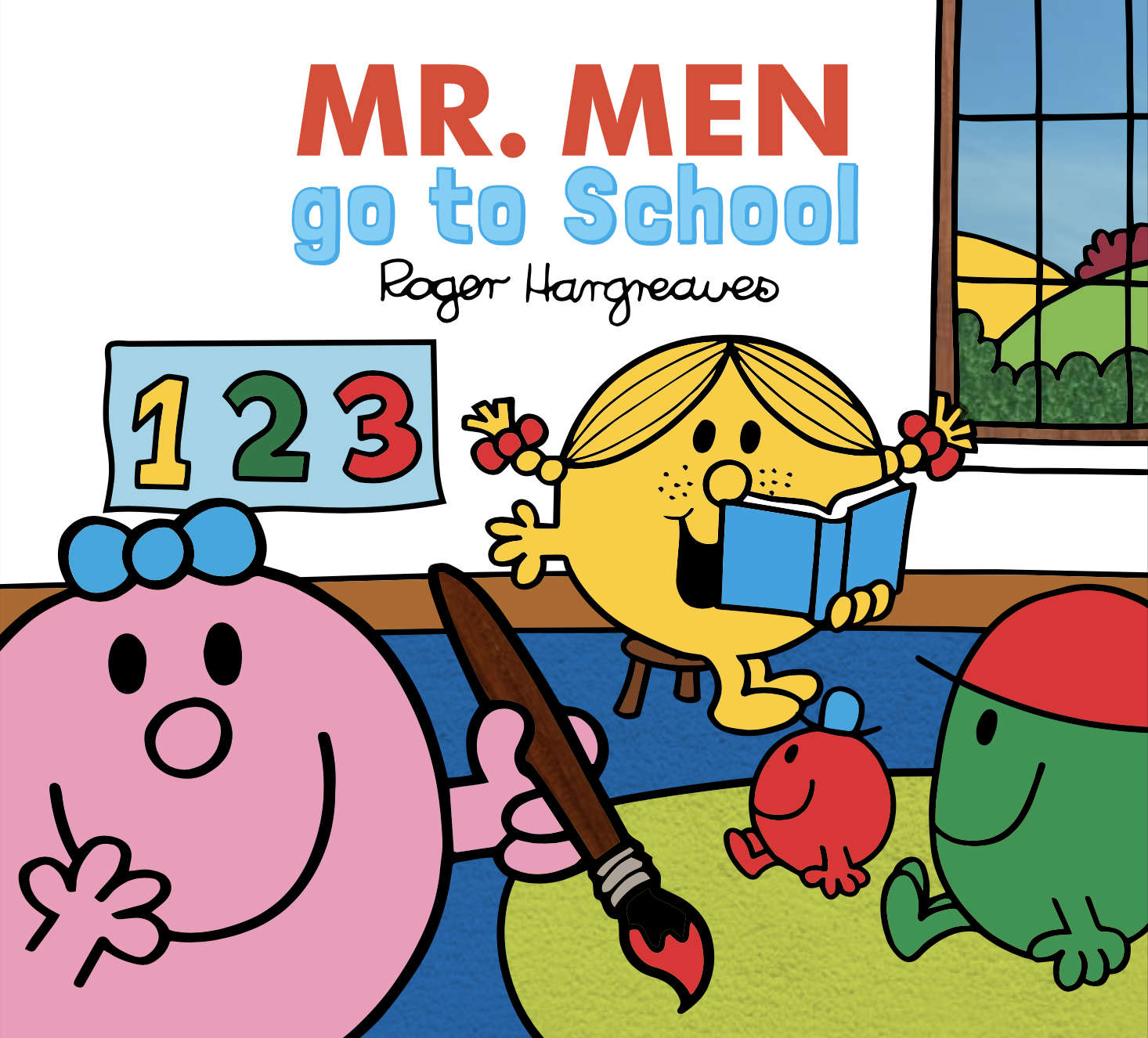 Mr. Men go to School