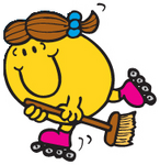 LITTLE MISS TIDY SKATING