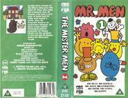 Mr. Men volume 1 VHS cover