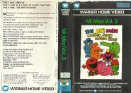 Mr Men Volume 3 VHS (1981 version)