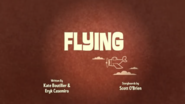 Flying Title Card
