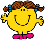 Little Miss Tidy Happy