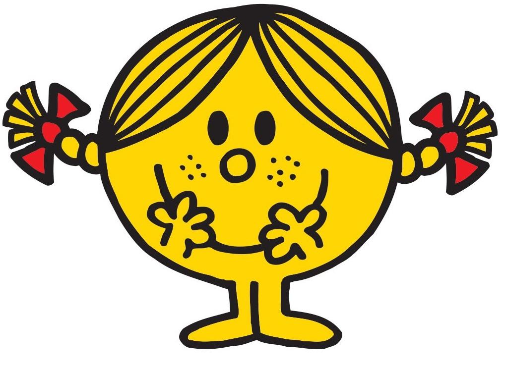 YARD MR MEN 1980S MR TICKLE LITTLE  MISS SUNSHINE GROSGRAIN RIBBON CHARACTER