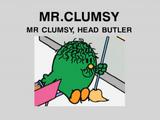 Mr. Clumsy Head Butler