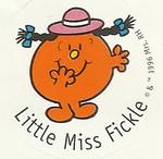 LITTLE MISS FICKLE 5A