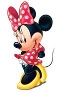 Minnie Mouse pose