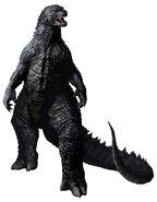 Godzilla 2014 RoomMates Godzilla Peel and Stick Giant Wall Decals
