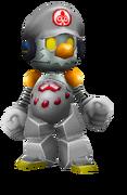 Robo mario full body silver version by fnatirfanmario db6iudx-fullview