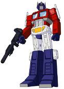 G1 Optimus Prime cartoon model