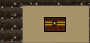 Before opening chest