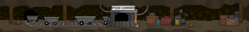 The tradind post's mineshaft