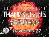Sci-Fi Channel's Thanksgiving Marathon
