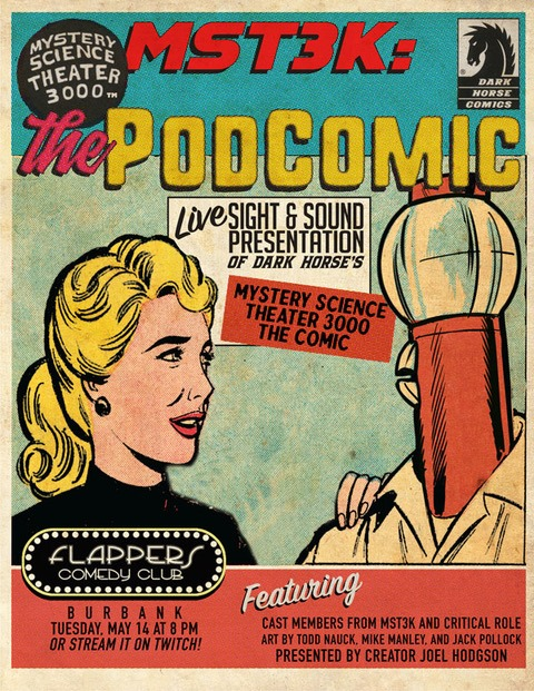 Totino's Proudly Presents Mystery Science Theater 3000 The PODComic!