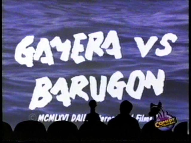 MST3K 304 - Gamera vs Barugon
