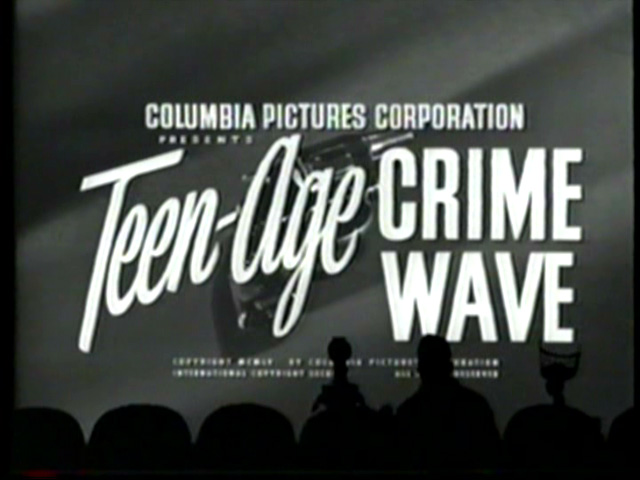 MST3K 522 - Teen-Age Crime Wave