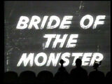 MST3K 423 - Bride of the Monster