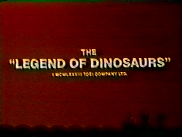 "MST3K K21 - The ""Legend of Dinosaurs"""