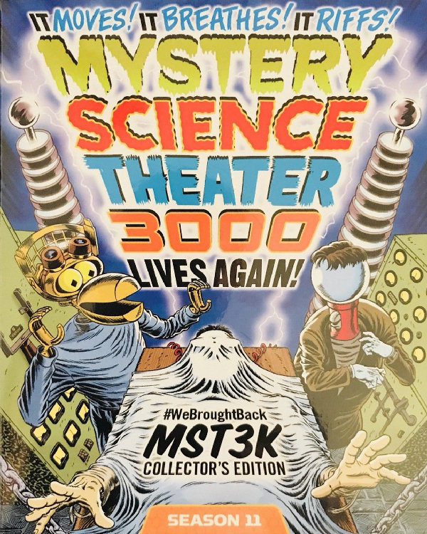 Mystery Science Theater 3000: Season 11 - WeBroughtBackMST3K Collector's Edition