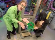 MST3k Manos- The Mads Chocolate bunny guillotine invention exchange.png