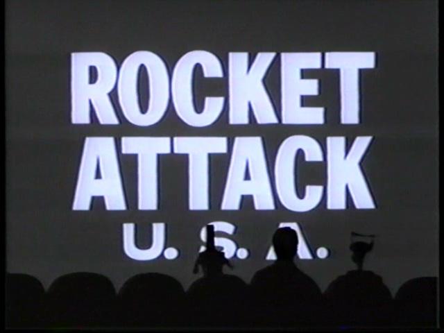 MST3K 205 - Rocket Attack U.S.A.