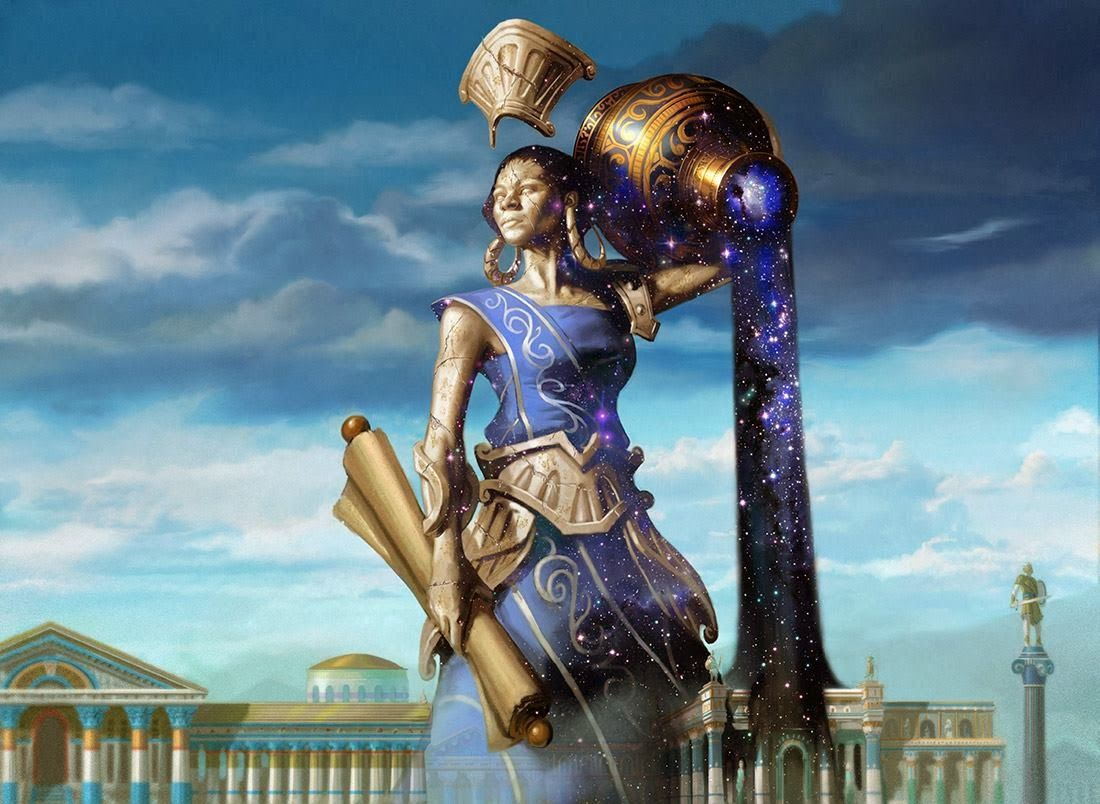 God of the Polis MTG Born of the Gods Mythic Rare EDH Legend Azorius Ephara