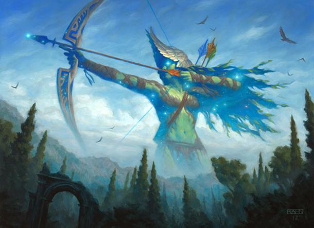 Nylea/'s Disciple X 4 NM//SP Theros