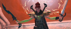 Red-haired planeswalker.png